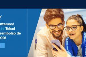 Promociones Telcel y BBVA Bancomer Pre Buen Fin 2019: $3,000 de reembolso y msi