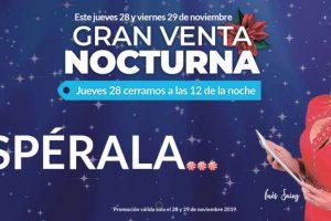 Venta Nocturna Office Depot 28 y 29 de noviembre de 2019