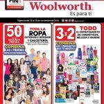Folleto de ofertas Woolworth El Buen Fin 2019
