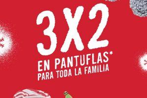 C&A: 3x2 en Pantuflas del 20 al 22 de diciembre 2019