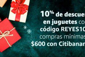 Amazon México: Día de Reyes 10% de descuento en Juguetes con CitiBanmex