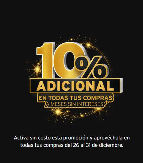 Promociones Banamex El Mejor Fin 2019: 10% de descuento adicional