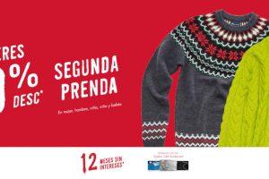 C&A: Suéteres 50% de descuento en la segunda prenda
