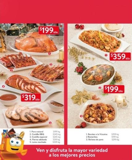 Cenas Navideñas Walmart del 4 al 17 de diciembre de 2019