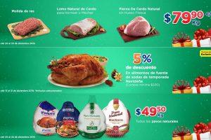 Chedraui: Ofertas en carnes y pavo del 20 al 23 de diciembre 2019