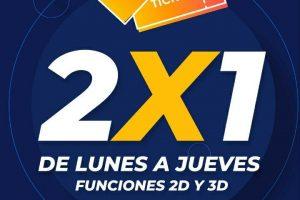 Cinépolis: 2x1 en boletos con tarjeta Cinépolis solo en taquilla