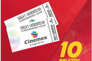 Costco: 10 boletos de Cinemex a sólo $309 pesos