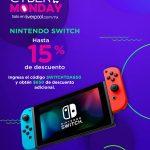 Cupón Liverpool Cyber Monday 2019: $650 de descuento en Nintendo Switch