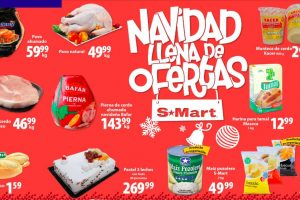 Frutas y Verduras S-Mart del 24 al 26 de diciembre 2019