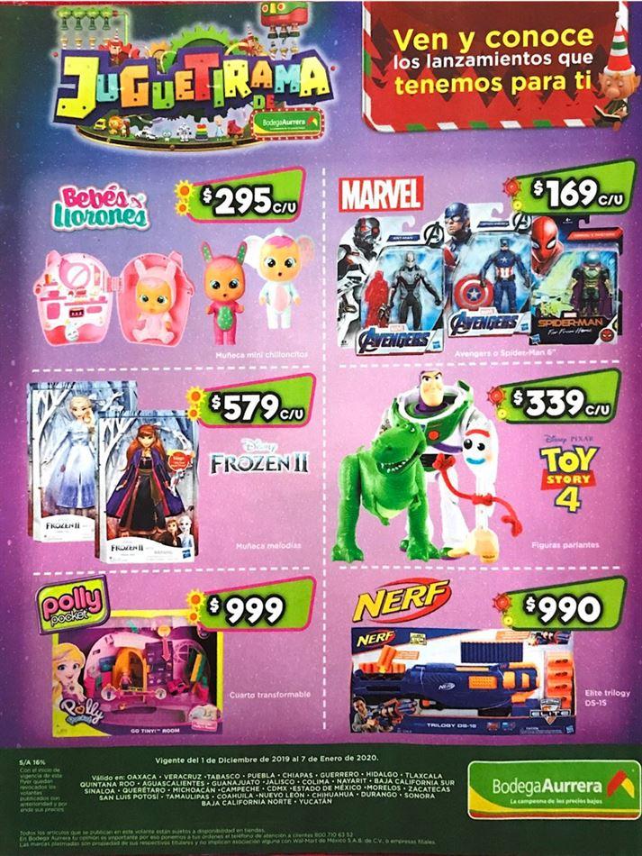 Folleto De Ofertas Bodega Aurrera Juguetirama Del 2 Al 7 De Diciembre 2019 /juguetes/figuras de acción/animales y dinosaurios. ofertas bodega aurrera juguetirama