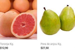 Bodega Aurrerá: frutas y verduras tianguis de mamá lucha al 3 de enero 2020