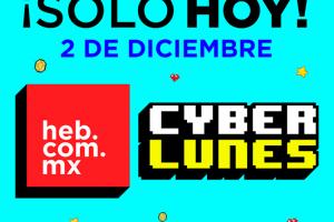 Promociones HEB Cyber Monday 2019: Hasta 50% de descuento + 18 msi