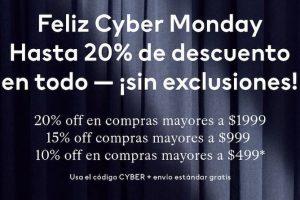 Promociones de Cyber Monday 2019 en H&M