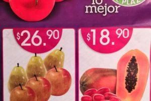 La Comer: Miércoles de Plaza Frutas y Verduras 4 de diciembre 2019
