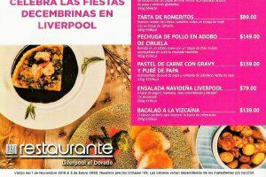 Promociones Liverpool Navidad y Año Nuevo 2020: Cenas Navideñas