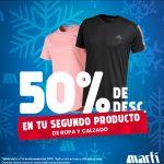 Martí: 50% de descuento en el segundo producto de ropa y calzado Navidad 2019