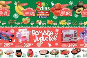 S-Mart frutas y verduras del 17 al 19 de diciembre 2019