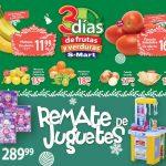 Frutas y Verduras S-Mart del 10 al 12 de diciembre 2019