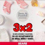 Gran Venta de Navidad Sears: 3x2 en ropa interior y Calcetería