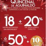 Sears: Venta Nocturna Quincenal de Aguinaldo del 13 al 15 de diciembre 2019