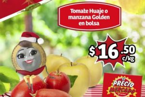 Soriana Mercado frutas y verduras del 10 al 12 de diciembre 2019