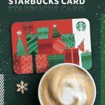 Starbucks: Bebida Gratis con tarjeta de Navidad diciembre 2019