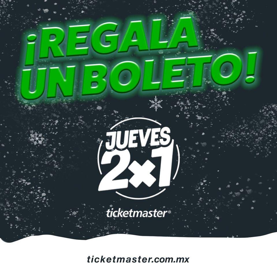 Ticketmaster – Jueves 2×1 en conciertos 19 de diciembre 2019