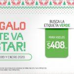Promociones Vivaaerobus del 9 al 15 de diciembre 2019