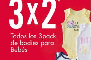C&A - Rebajas de 3×2 en bodies para bebé del 8 al 15 de enero 2020