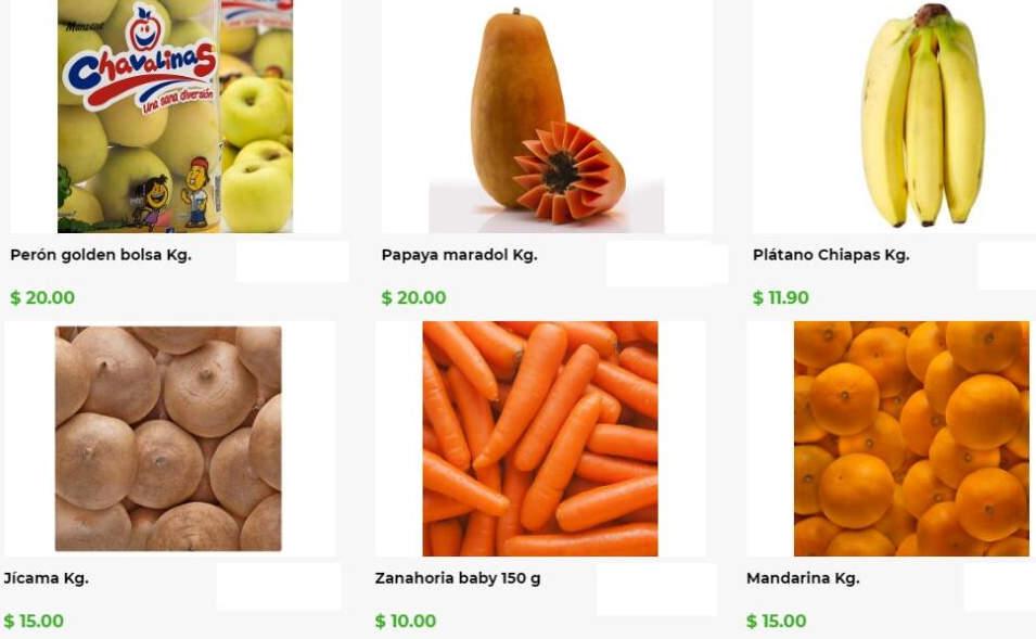 Frutas y Verduras Bodega Aurrerá del 3 al 9 de enero 2020