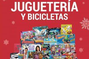 La Comer: $20 de descuento por cada $100 de compra en juguetes y bicicletas