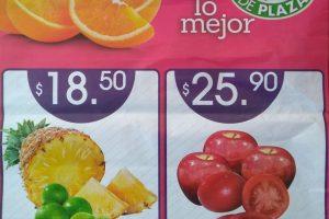 La Comer - Miércoles de Plaza Frutas y Verduras 8 de Enero 2020