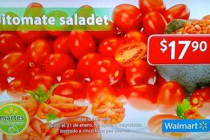Martes de Frescura Walmart 21 de enero 2020