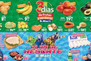 Ofertas S-Mart Frutas y Verduras del 7 al 9 de enero 2020