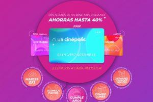 Promociones Club Cinepolis Canasta de Palomitas ó 2 Frappes por $79