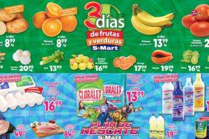 S-Mart Frutas y Verduras del 14 al 16 de enero 2020