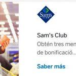 Sams Club: 3 meses de bonificación y 18 msi con tarjetas BBVA Bancomer