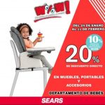 Sears Ofertas de Rebajas en niños y niñas del 27 de enero al 11 de febrero