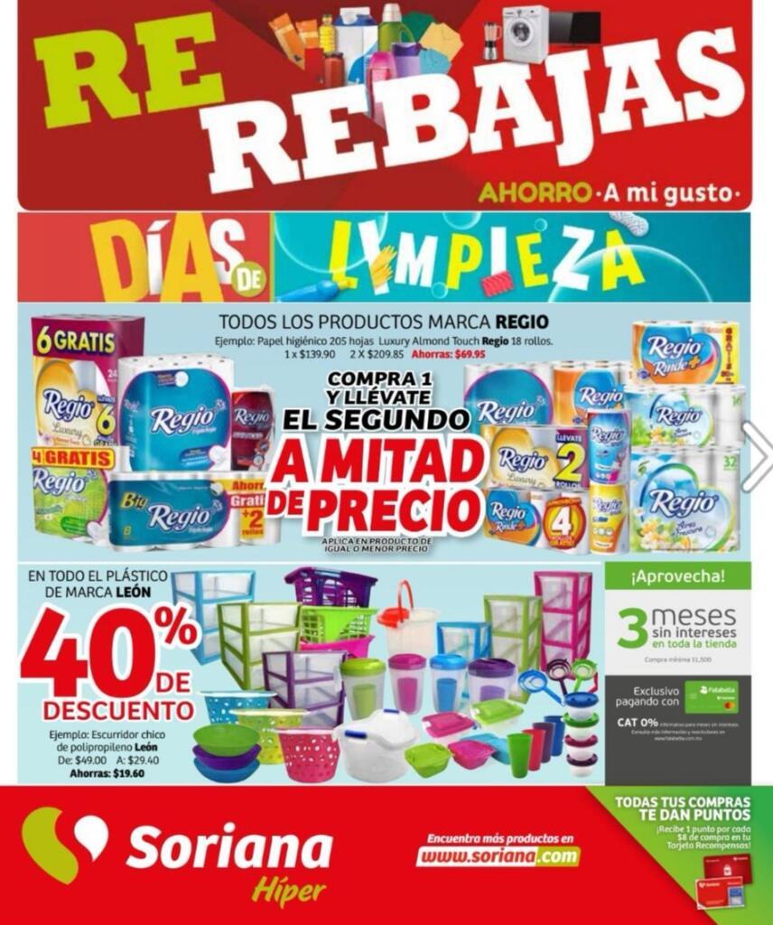 Soriana Híper – Folleto de promociones del 10 al 16 de enero 2020