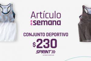 Suburbia - Artículo de la Semana Conjunto deportivo Sprint de mujer a $229