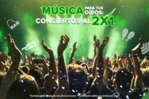 Ticketmaster - Jueves 2x1 9 de Enero 2020 / Promociones en conciertos