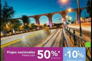 Volaris: Hasta 50% de descuento + 10% adicional en viajes nacionales