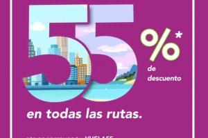 Volaris: hasta 55% de descuento en viajes y vuelos hoy 15 de enero 2020