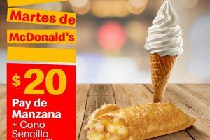 Cupones McDonald's Martes de 25 de febrero 2020
