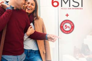 Promoción Banorte San Valentín 2020: 5% de bonificación + 6 MSI