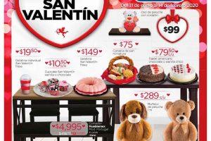 Folleto de ofertas Chedraui San Valentín al 14 de febrero 2020