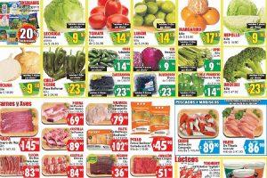 Ofertas Casa Ley Frutas y verduras 5 y 6 de febrero 2020