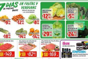 Ofertas HEB Frutas y Verduras del 4 al 10 de febrero 2020