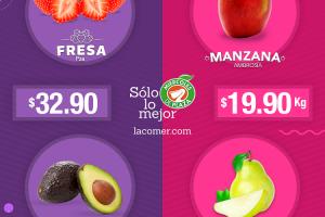 La Comer - Miércoles de Plaza Frutas y Verduras 12 de Febrero 2020