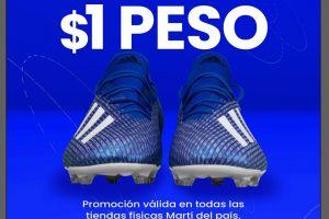 Promoción Deportes Martí Febrero Loco 2020: Tenis a $1 peso